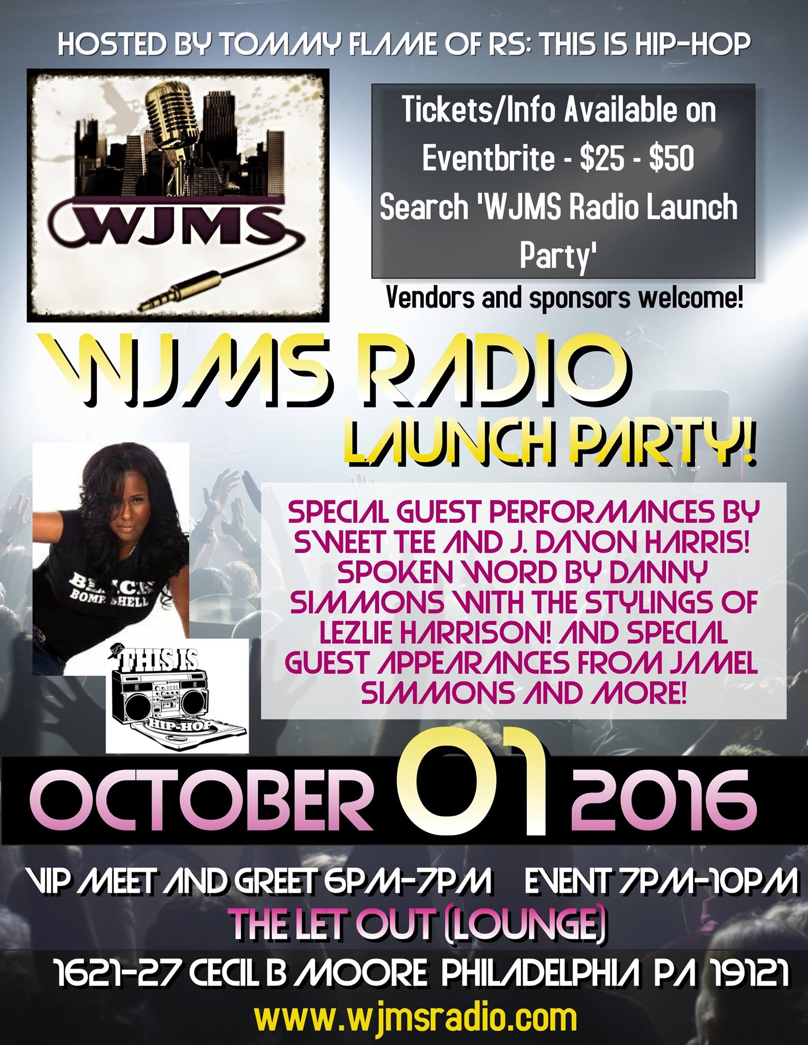 WJMS Radio Launch Party