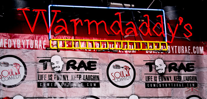 Soul Comedy at Warmdaddy's: Interview with TuRae